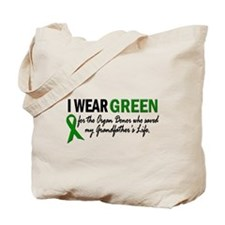 I Wear Green 2 (Grandfather's Life 2) Tote Bag