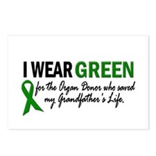 I Wear Green 2 (Grandfather's Life 2) Postcards (P
