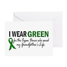 I Wear Green 2 (Grandfather's Life 2) Greeting Car
