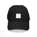 What Cat Hair? Black Cap