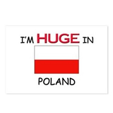 I'd HUGE In POLAND Postcards (Package of 8)
