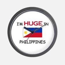 I'd HUGE In PHILIPPINES Wall Clock