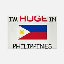 I'd HUGE In PHILIPPINES Rectangle Magnet