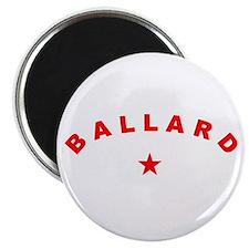Cool Ballard Magnet