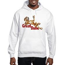 Brindle Great Dane LBUC Hoodie