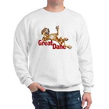 Brindle Great Dane LBUC Sweatshirt