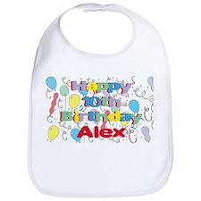 Alex's 10th Birthday Bib