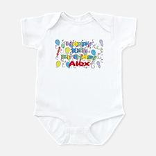 Alex's 10th Birthday Infant Bodysuit