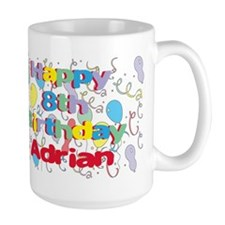 Adrian's 8th Birthday Mug