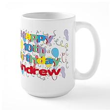 Andrew's 10th Birthday Mug