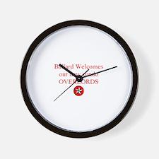 Funny Ballard Wall Clock