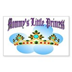Mommy's Little Princess Rectangle Sticker