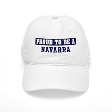 Proud to be Navarra Baseball Cap