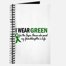 I Wear Green 2 (Granddaughter's Life) Journal