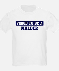 Proud to be Mulder T-Shirt