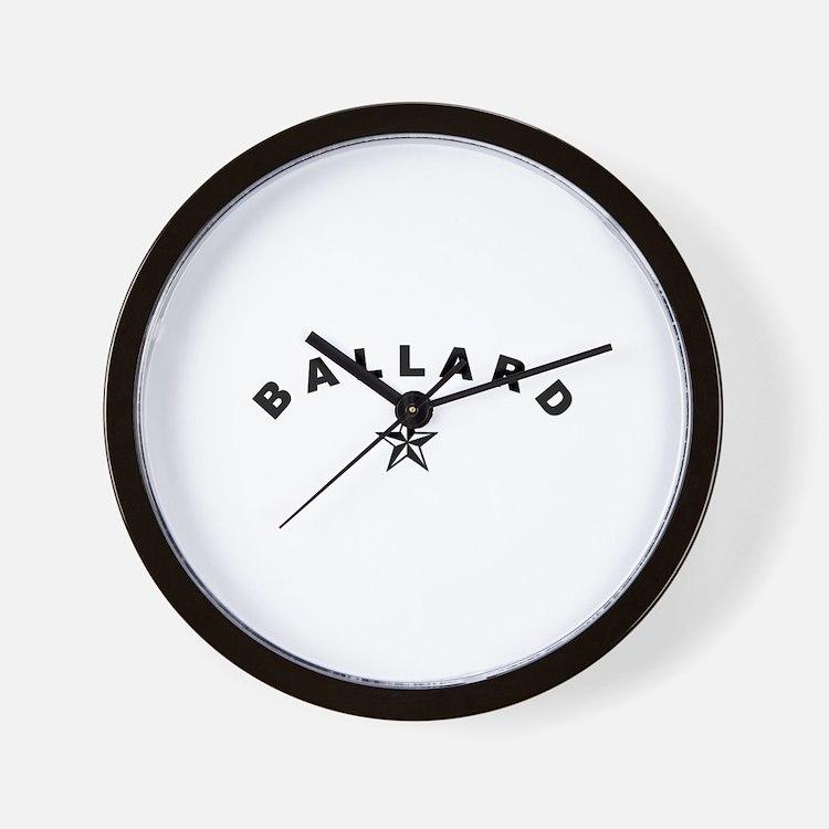 Cute Ballard Wall Clock