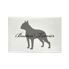 Boston Terrier Rectangle Magnet