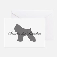 Bouvier des Flandres Greeting Cards (Pk of 20)