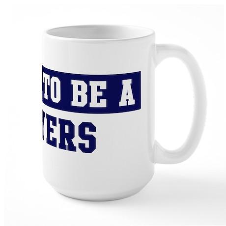 Proud to be Moyers Large Mug