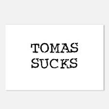 Tomas Sucks Postcards (Package of 8)
