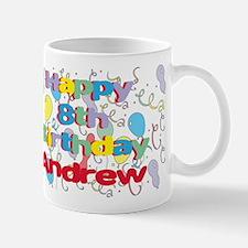 Andrew's 8th Birthday Mug