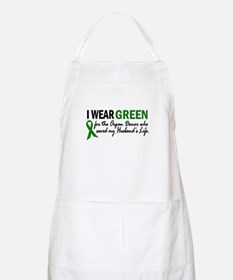 I Wear Green 2 (Husband's Life) BBQ Apron