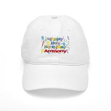 Anthony's 8th Birthday Baseball Cap