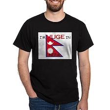 I'd HUGE In NEPAL T-Shirt