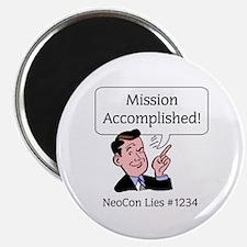 NeoCon Lies 2 Magnet