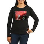 The Little Red Porsche Women's Long Sleeve Dark T-