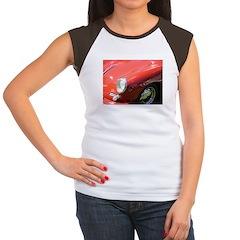 The Little Red Porsche Women's Cap Sleeve T-Shirt