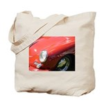 The Little Red Porsche Tote Bag