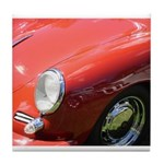 The Little Red Porsche Tile Coaster