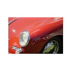 The Little Red Porsche Rectangle Magnet (10 pack)