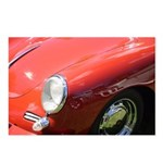 The Little Red Porsche Postcards (Package of 8)