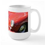 The Little Red Porsche Large Mug