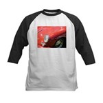 The Little Red Porsche Kids Baseball Jersey