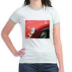 The Little Red Porsche Jr. Ringer T-Shirt