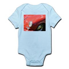 The Little Red Porsche Infant Bodysuit