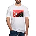The Little Red Porsche Fitted T-Shirt