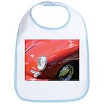 The Little Red Porsche Bib