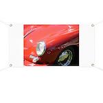 The Little Red Porsche Banner