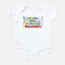 Brayden's 10th Birthday Infant Bodysuit