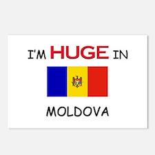 I'd HUGE In MOLDOVA Postcards (Package of 8)
