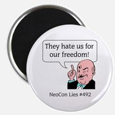 NeoCon Lies 3 Magnet