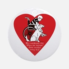 Assistance Dog - Ornament (Round)