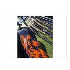 Fire and Chrome Postcards (Package of 8)