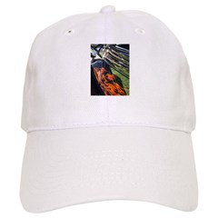 Fire and Chrome Baseball Cap