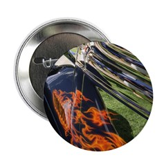 "Fire and Chrome 2.25"" Button"