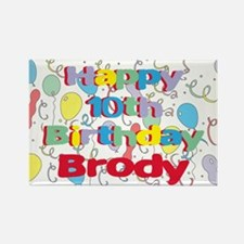 Brody's 10th Birthday Rectangle Magnet